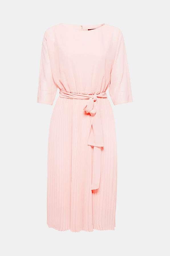Verrassend lichtroze jurk plisse rok Esprit bregblogt.nl - Breg Blogt FF-02